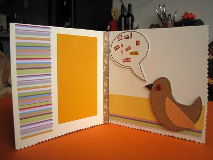 Greeting card for Twitter-fans