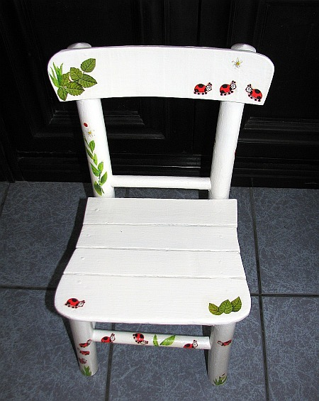 White chair project